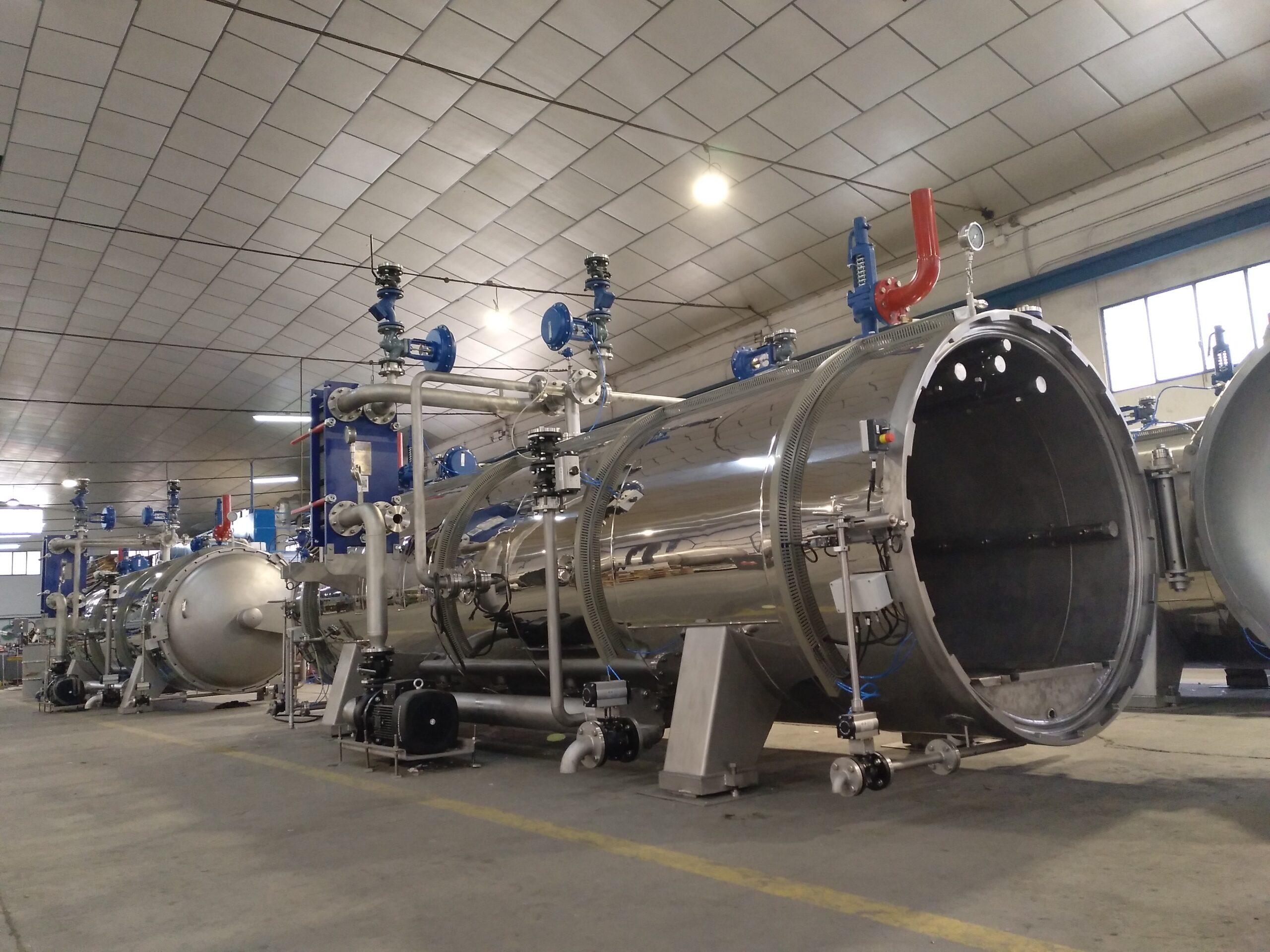 Equipamientos para vapor y aceite térmico